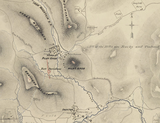 Map_of_Pilot_Knob,_Mo.,_and_Vicinity._Wm._Hoelcke,_Captn._&_Addl._A._de_C._-_NARA_-_305779