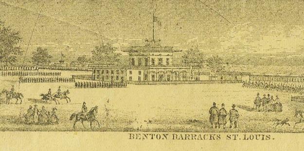 Benton Barracks - St. Louis Nurse