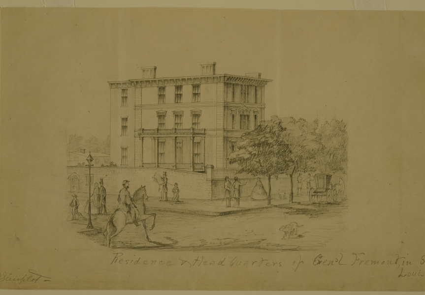 Pencil_Drawing,__Residence_and_Headquarters_of_Gen'l_Fremont_in_St._Louis__by_Alexander_Simplot.jpg